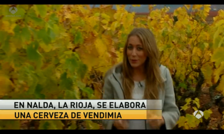 Cerveza de vendimia en Antena 3