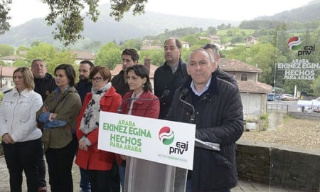 Ramiro González, presidente de la Diputación de Álava (PNV) | Foto: PNV (Flickr)
