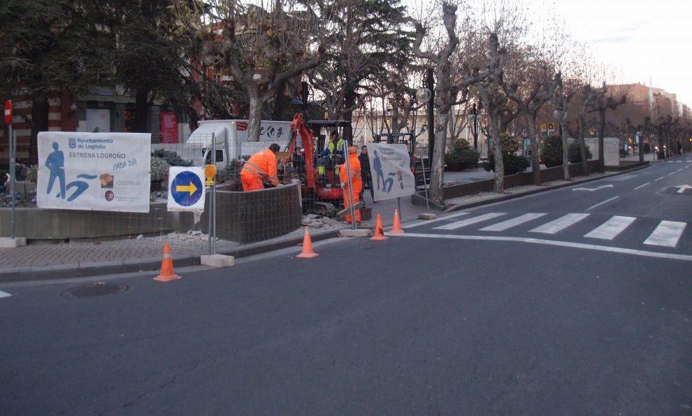 avenida de la paz obras