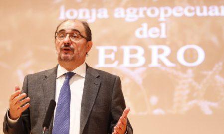 """El Presidente de Aragón, Javier Lambán, pronuncia la conferencia que lleva por título """"Aragón, el futuro agroalimentario"""""""