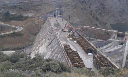 Obras en la presa de Enciso | Confederación Hidrográfica del Ebro