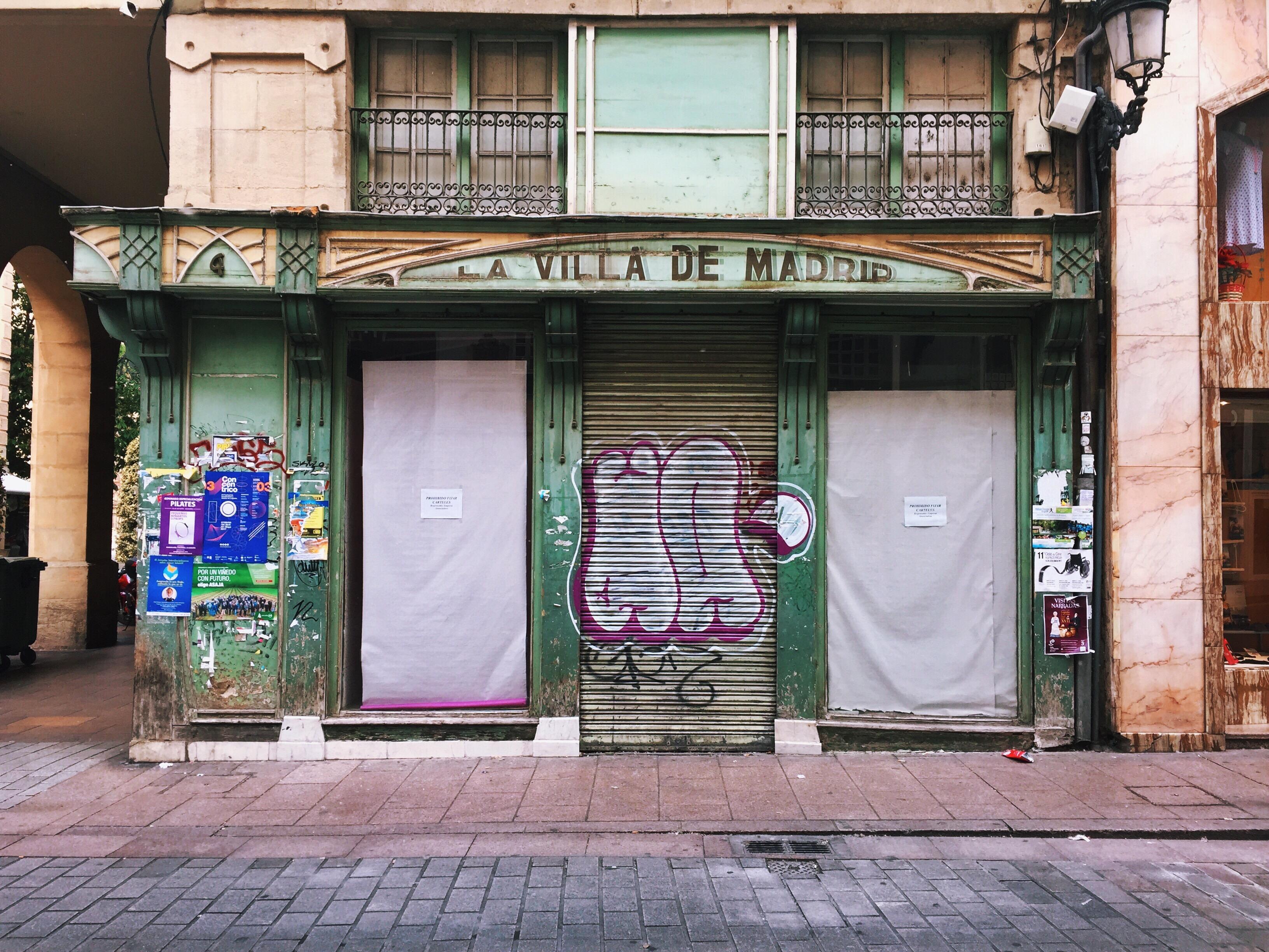 Logro o una ciudad de letras olvidadas for Habitamos madrid