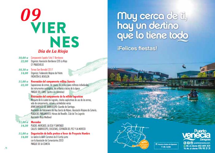 Resulta incomprensible que se invite a asistir a zaragoza a pasar el d a de san bernab - Dias de apertura puerto venecia 2017 ...