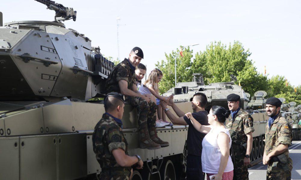 Los reyes presidir n el d a de las fuerzas armadas en - Hotel las gaunas en logrono ...