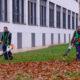 Fundación ASPREM realiza la conservación de las zonas verdes del campus de la Universidad de La Rioja