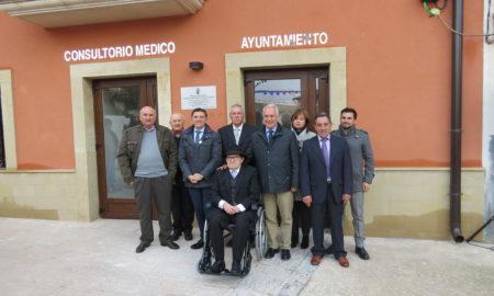 Inauguración del nuevo ayuntamiento de Alesón (2016) | Foto: Gobierno de La Rioja