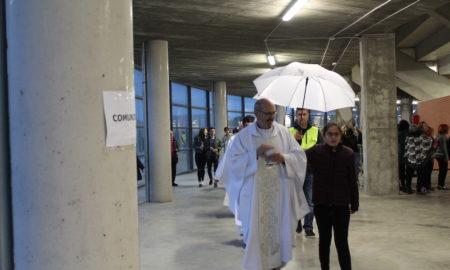 Misa del inicio de la Misión Diocesana EUNTES en La Ribera | Foto: Amaya Garrido