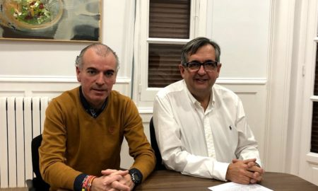 Alberto Caro y Luis Martínez Portillo | Foto: Ayuntamiento de Calahorra