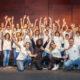 Grabación del coro Cuchuflete con Elyella | Foto: Javier García (Coro Cuchuflete)