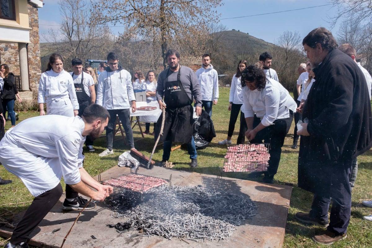 La riqueza gastronómica de La Rioja, explicada en origen a una nueva promoción del Basque Culinary