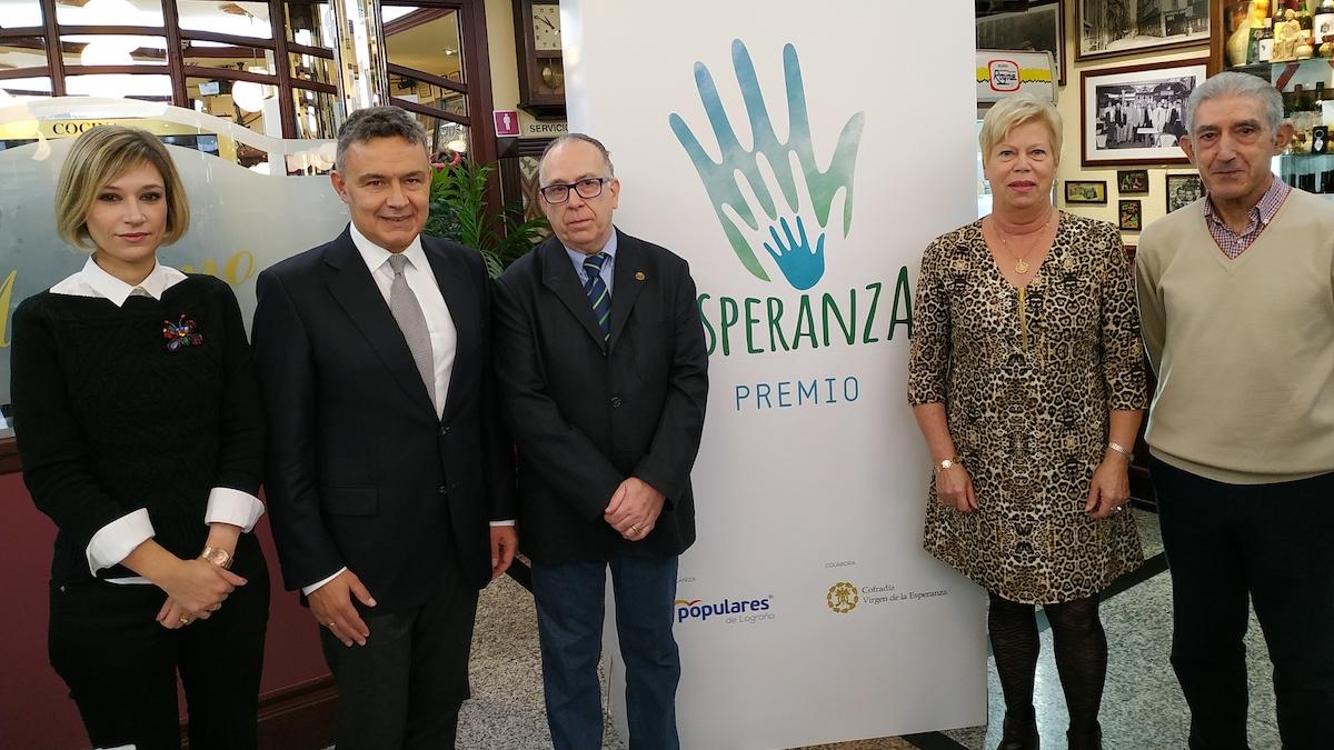 El PP y la Cofradía de la Esperanza premiarán la solidaridad en Logroño - NueveCuatroUno