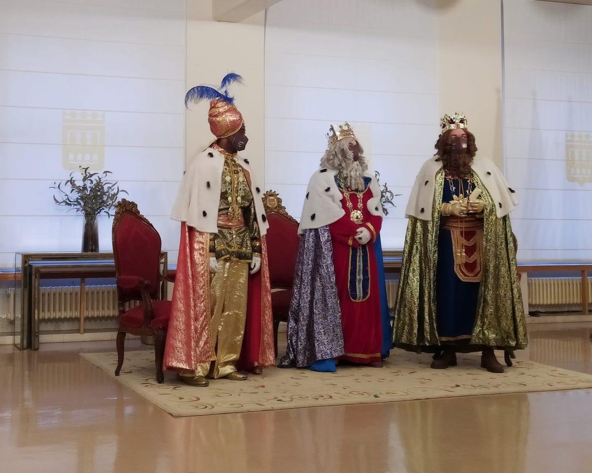 Los Reyes Magos en Logroño